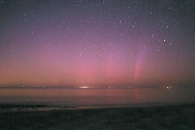 Aurora sobre el Cabo Cod