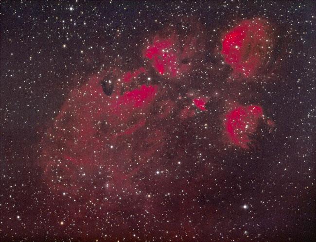 La nebulosa de la huella de Gato