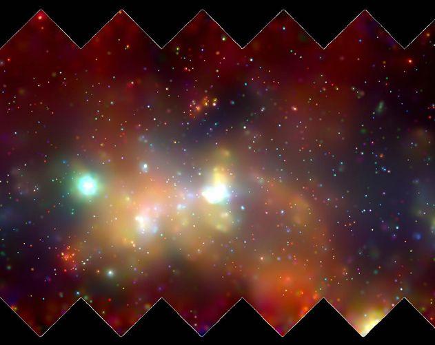 La Vía Láctea en rayos X