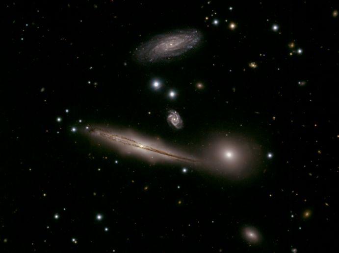 El Grupo de Galaxias HCG 87