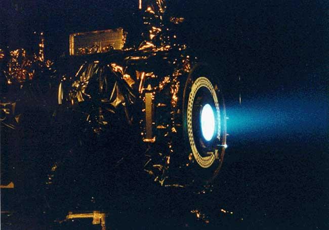 La Propulsión de Iones del Deep Space 1