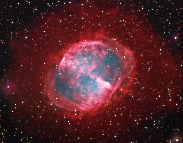 EL halo de la nebulosa Dumbbell