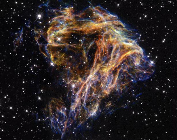 El estallido cósmico de N49
