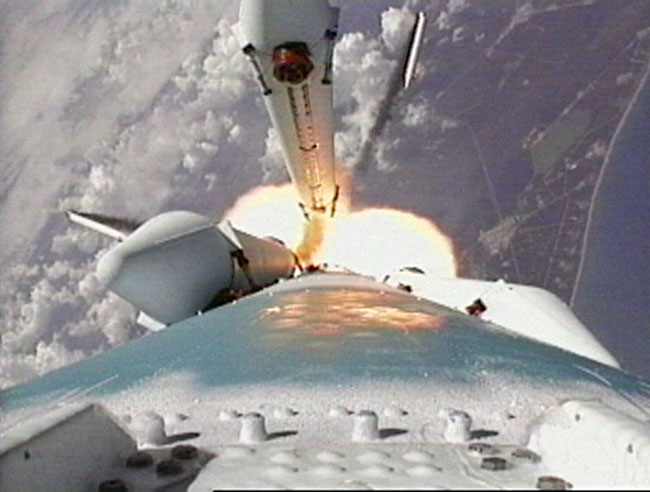 Lanzamiento del rover Spirit hacia Marte