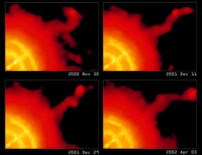 El chorro dinámico del púlsar Vela
