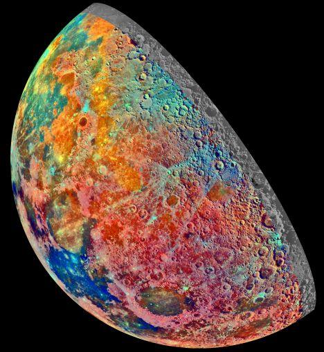 La luna mineral