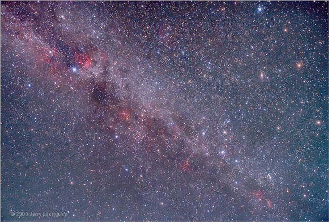 El norte de la Vía Láctea