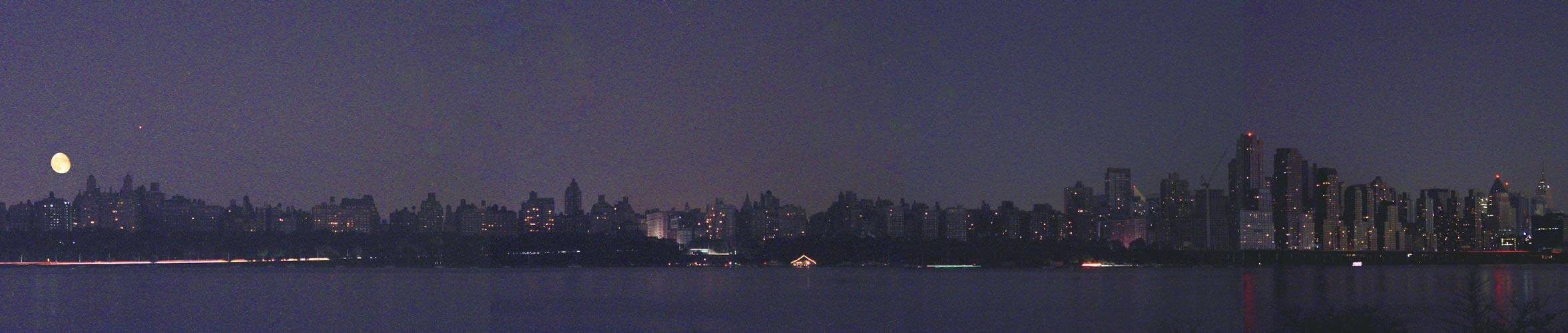 Luces brillantes, ciudad oscura