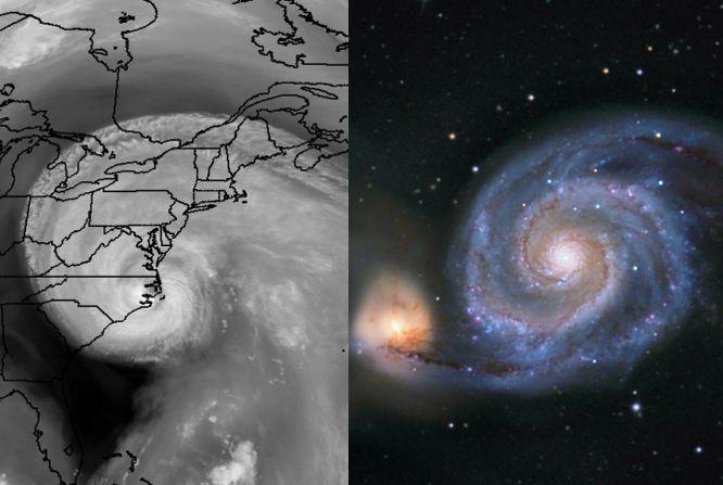 Las Espirales Logarítmicas Isabel y M51