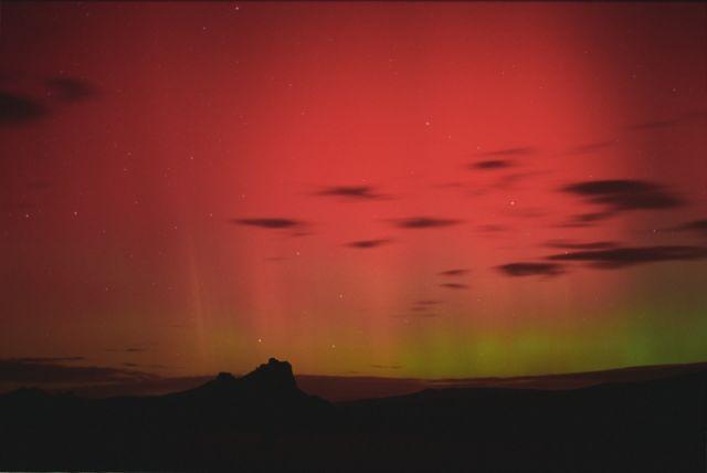 Aurora en los cielos de Colorado