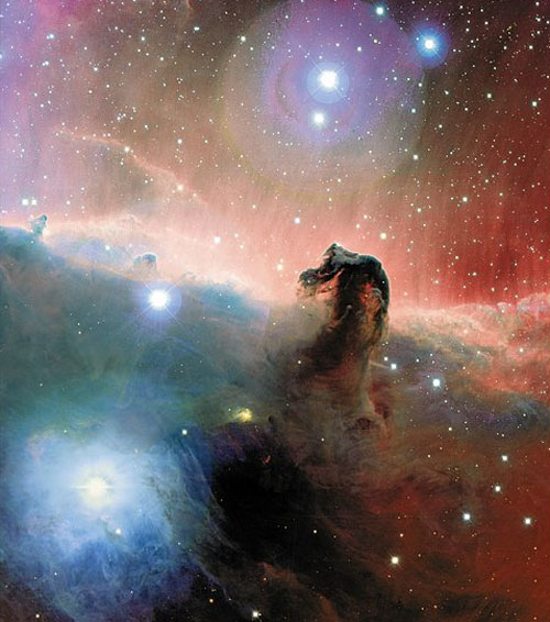 18e anniversaire du télescope spatial Hubble Horsehead_cfht