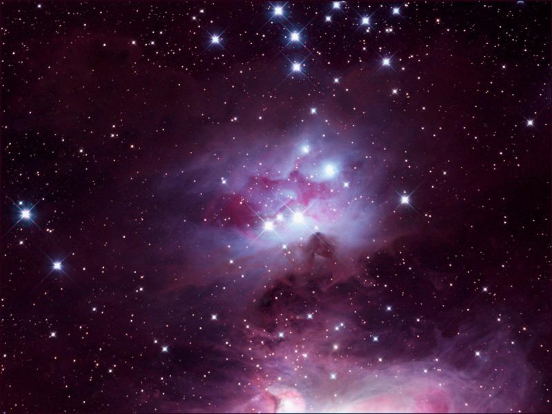 オリオン座の散光星雲NGC1973