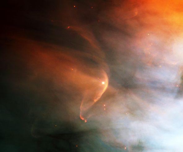 LL Orionis: Když kosmický vítr narazí