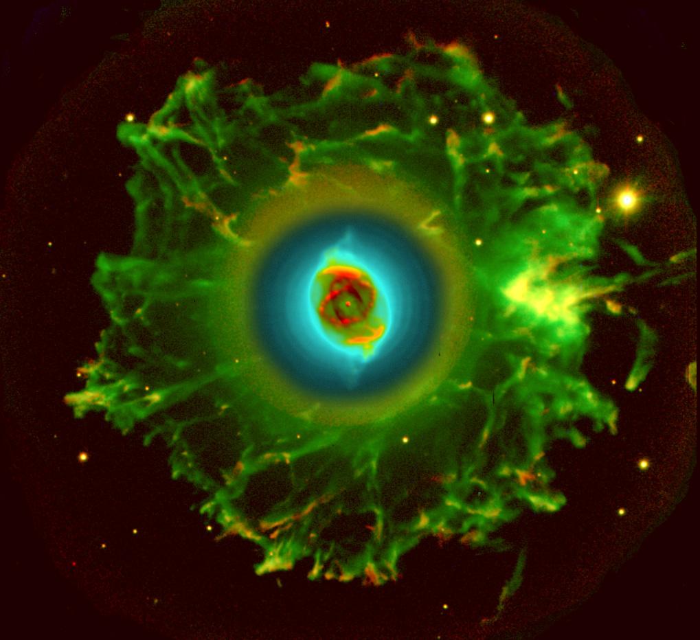 APOD: 2003 November 1 - Halo of the Cat's Eye