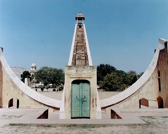 El reloj de sol del Observatorio Jaipur