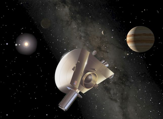 New Horizons en Júpiter