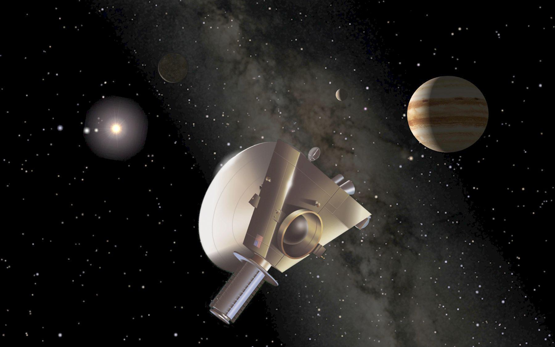 APOD: 2003 December 4 - New Horizons at Jupiter