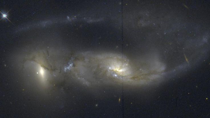 Arp 81: 100 millones de años después