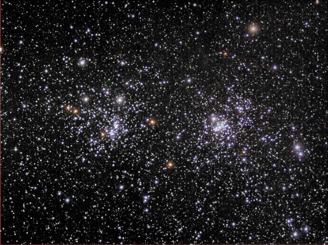 NGC 869 & NGC 884: Un Cúmulo Abierto Doble