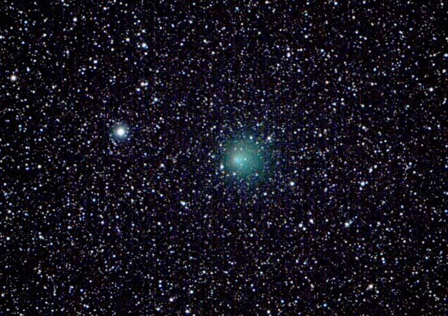 El cometa Encke vuelve