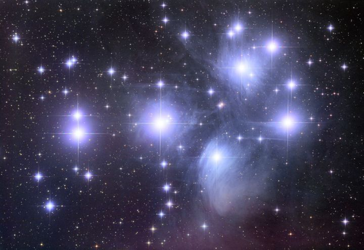 The Pleiades Star Cluster  Credit & Copyright: Robert Gendler