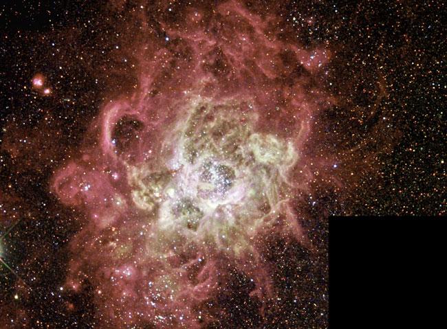 NGC 604: una gigantesca guardería estelar