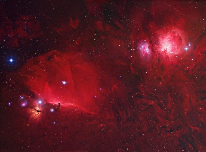 Un Profundo Campo de Orion