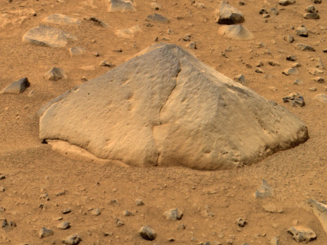 Kámen Adirondack na Marsu