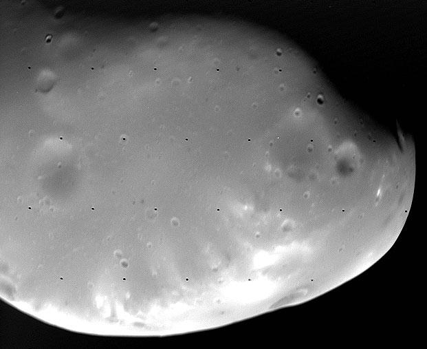 Deimos, una pequeña luna marciana