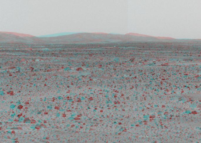 Las Colinas de Marte