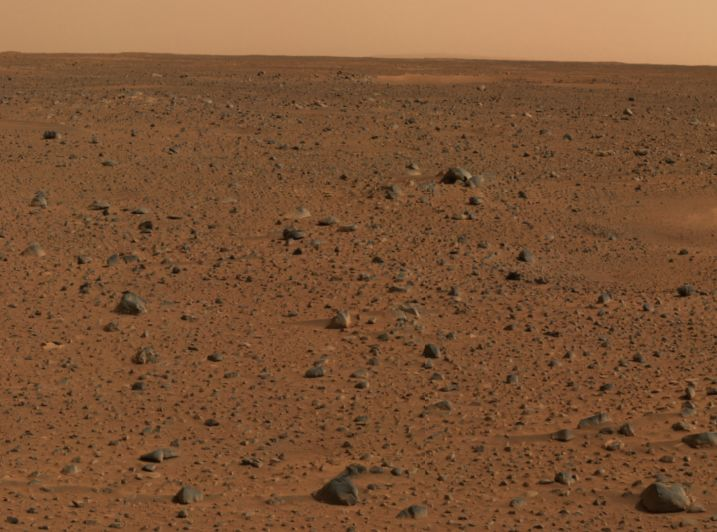 Marte Rojo desde Spirit