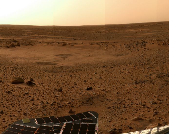 Sol 5 Postcard from Mars