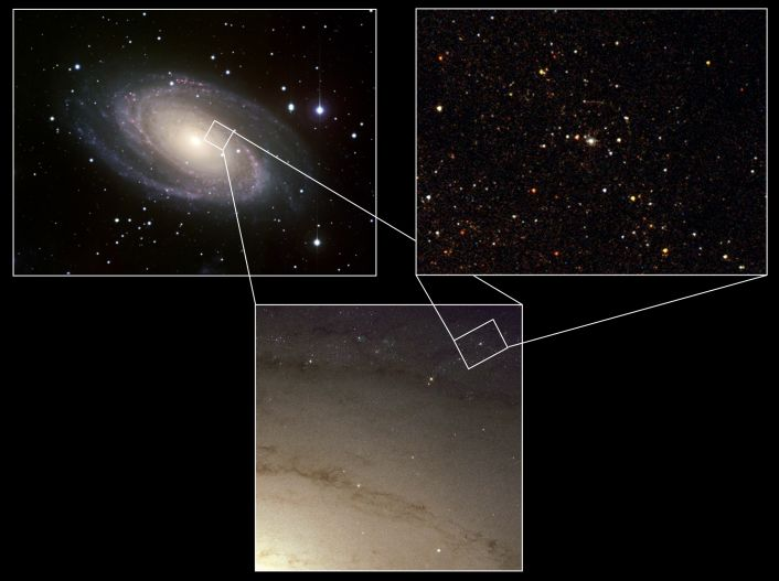 La sobreviviente de una supernova