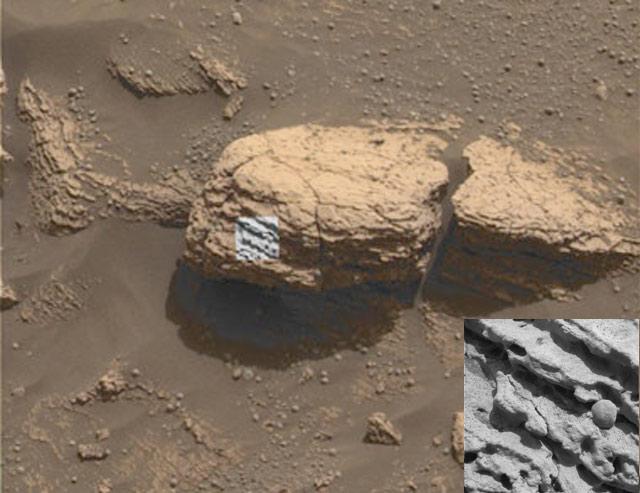 Esférulas inusuales de Marte
