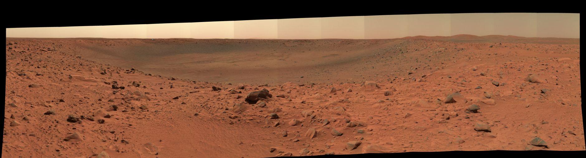 Espíritu Pan de Cráter Bonneville's Edge