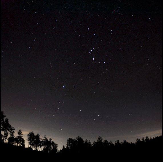 El cielo de Cold Mountain