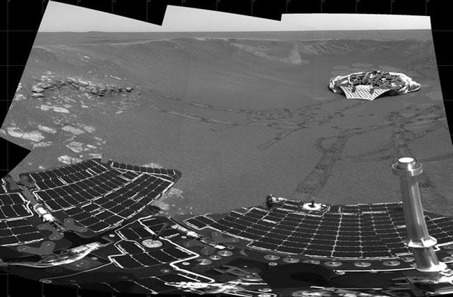 Rover Opportunity Indica el Antiguo Marte era húmedo