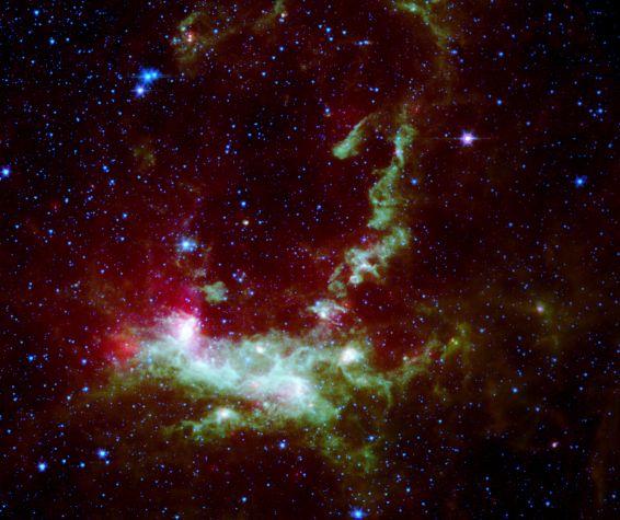 Henize 206: generaciones cósmicas