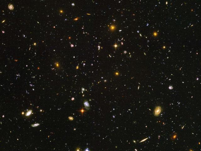 El Campo Ultra Profundo del Hubble