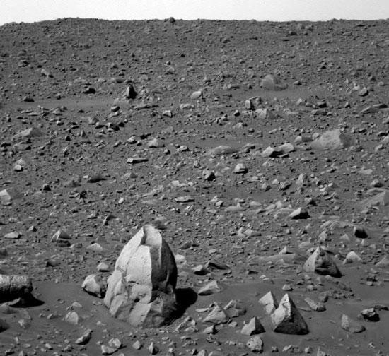 Humphrey Rock Indica el agua marciana antigua