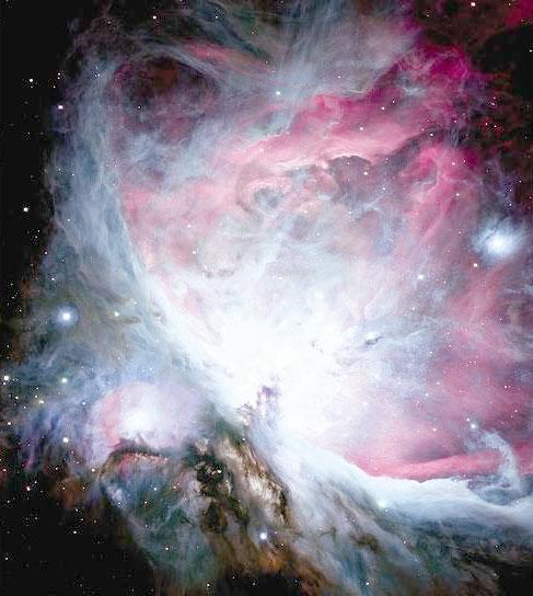 Туманность Ориона в телескоп CFHT: Просмотр изображения.