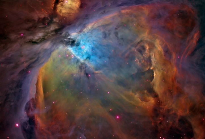 Orion de un color diferente