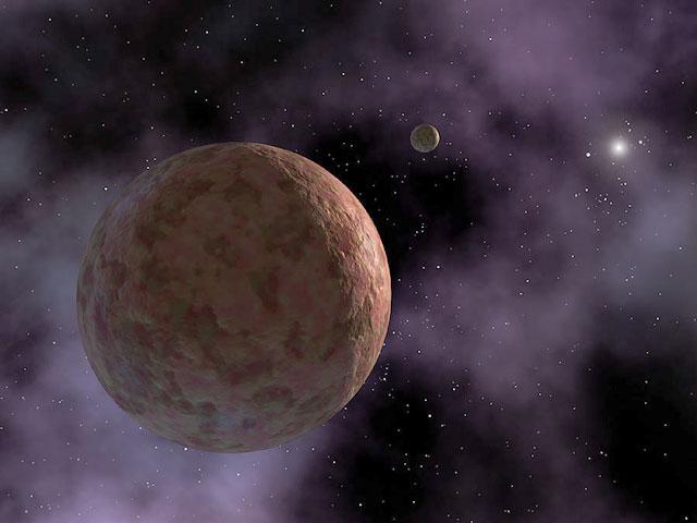 SEDNA del Sistema Solar exterior
