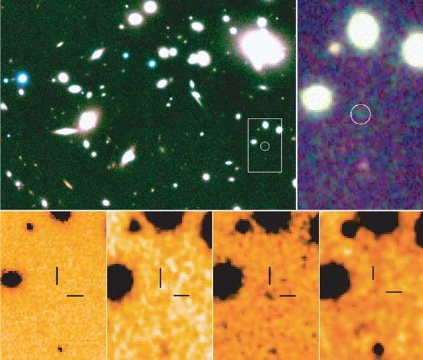Corrimiento al rojo 10: evidencia de una nueva galaxia más lejana
