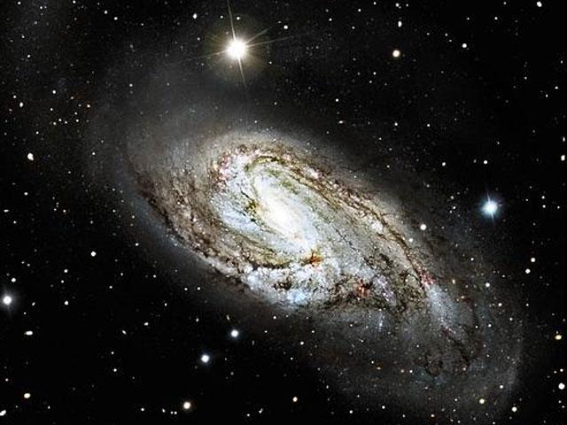 La extraordinaria galaxia espiral M66