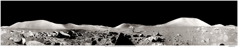 Apolo 17 - Paisaje lunar