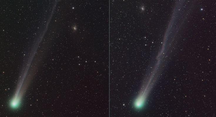 Apod 2004 April 23 Comet C 2001 Q4 Neat
