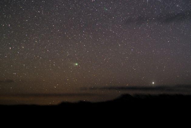 Miren al oeste para ver el Cometa NEAT