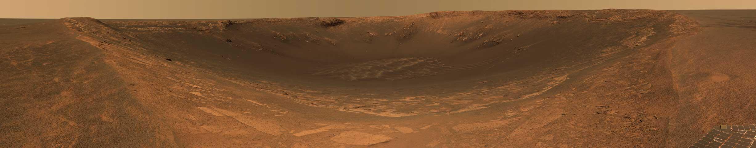 El Cráter Resistencia de Marte