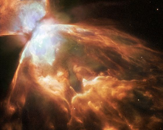 NGC 6302: nebulosa «bicho» grande y brillante
